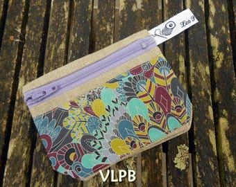 Door wallet linen and liberty Eben