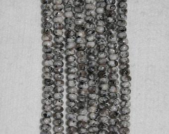 Moonstone, 8 mm, Norwegian Moonstone, Natural Stone, Smooth Rondelle, Moonstone Rondelle, Semi Precious, Full Strand, AdrianasBeads