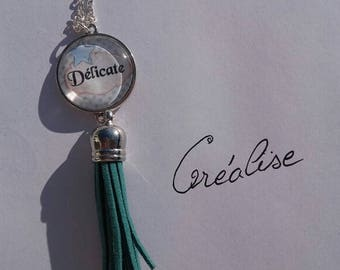 """Chain necklace with its Scriptures """"dainty"""" necklace"""
