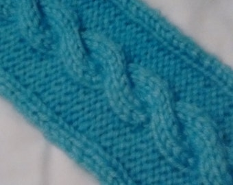 Cable scarf, warm, soft and cozy