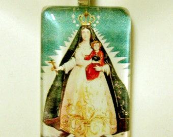 Virgen de la Caridad del Cobre, Our Lady of Charity pendant with chain - GP01-144