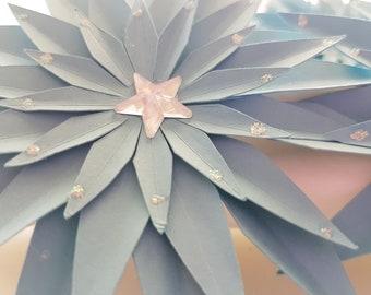 Star Flower Napkin Rings (set of 6)