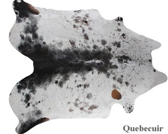 Unique exotic cowhide rug. Free shipping Canda and EEUU.