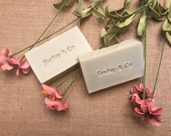 Olive Oil Face Bar with Green Clay Soap