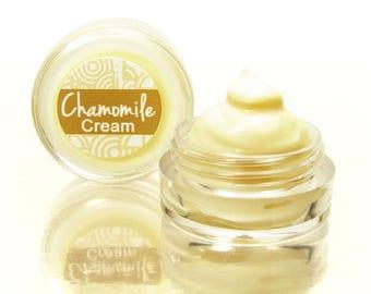 Face Cream Sample with Chamomile, Natural Face Cream, Dry Skin Cream, Chamomile Cream, Day Cream, Facial Cream, Sensitive Skin, Moisturizer