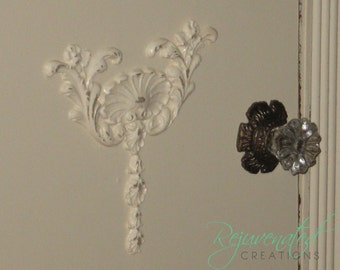 Furniture Applique / Craft Applique / do it yourself / shabby chic / romantic cottage / furniture appliques / distressed