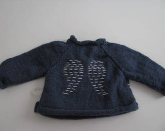 Angel wing heart cache size 6 months