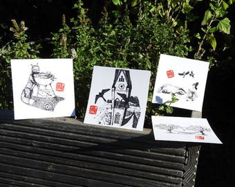 "11 postcards ""urban nature"" or ""Wild Life Graz"" Edition"
