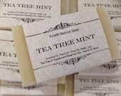 Tea Tree Mint Soap, Handm...