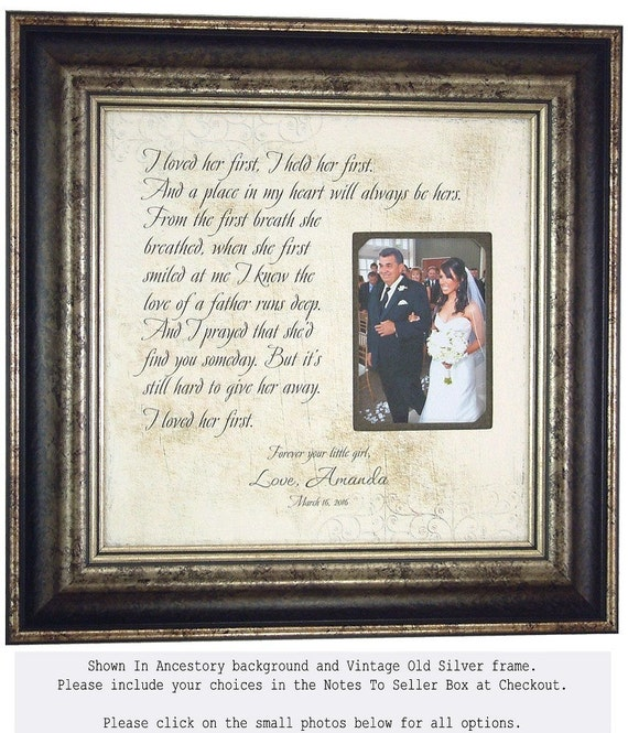 Father of the Bride Gift Lyrics Wedding Song First Dance I