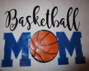 basketball Mom Vinyl shirt