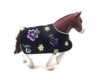 Toy horse blanket
