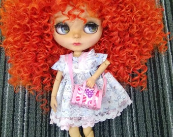 Lovey-dovey Handbag for Barbie, Blythe and other 12 inch dolls
