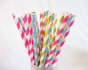 Straws Easter Favors Party Favors Straws Wedding Straws Pastel Table Decor Drinking Straws Baby Shower Favors Birthday Favors Table Utensil