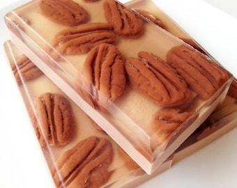 Pecan Pie Soap, Bakery Soap, Buttermilk Glycerin Soap, Food Soap, Dessert Soap