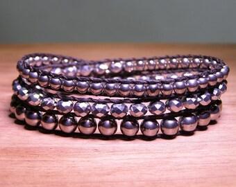 Sterling Wrap Bracelet