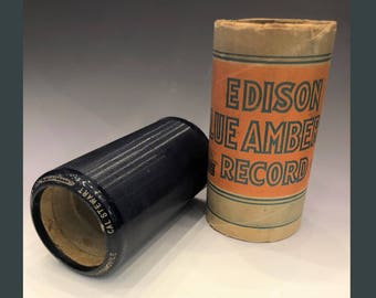 Antique Edison Cylinder #1583 Uncle Josh Buys an Automobile by Cal Stewart