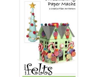 Embellishing Paper Mache - A Creative Fiber Art Pattern