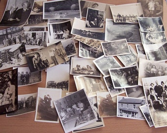50 Vintage Photographs People Family Children 1920-1960 Friends Men Women Holiday