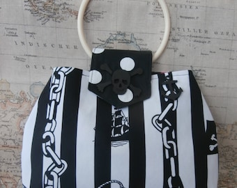 Pirate bag, for the pirate loving gal, with a love for the high seas.
