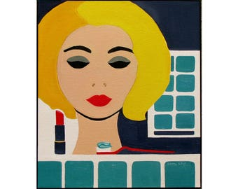 Calendar, 2018 Pop Art Wall Calendar, Art by Sandra Corey. FREE DOMESTIC SHIPPING.