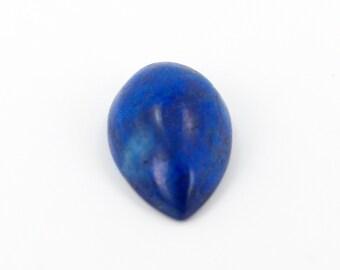 14x9 Pear Shaped Cabochon Lapis Lazuli Loose Gemstone