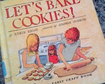 An Early Craft Book Let's Bake Cookies 1975