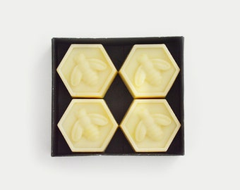 Baby Bee Soap Set | Four Decorative Bee Inspired Soaps