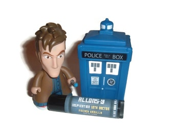 "The Tenth Doctor ""Allons-y!"" Doctor Who Inspired Lip Balm - French Vanilla Flavor Geek Stix"
