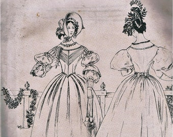 Australian Bicentennial Dress Pattern/Ladies Day Dress/ Pattern made for the Powerhouse Museum