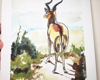 """Original Painting """"Across the Savanna"""""""