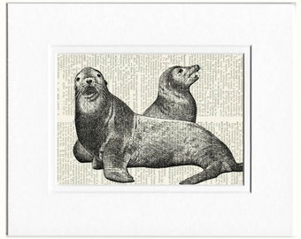 seals dictionary page print