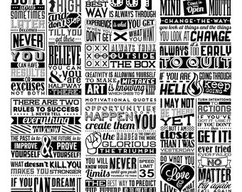 Do your best Chalkboard Quotes Clipart Clip Art, Chalk Board ,Words Clipart ,Clip Art, Vectors files ,Personal Use