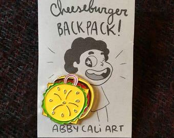 Steven Universe Cheeseburger Backpack Enamel Pin