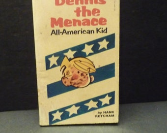 Dennis The Menace - All American Kid by Hank Ketcham- 1968 book