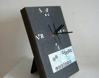 Horloge Livre Lecture, récup et détournement atypique, upcycling