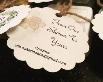 All Natural Shea Butter Soap - Sample Size