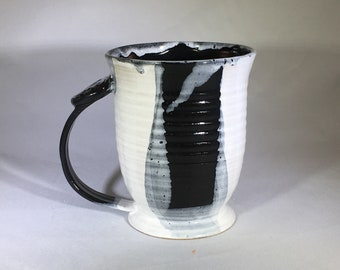 Coffee cup, pottery mug, ceramic mug