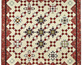 Legendary Love Quilt Pattern And Fabric Kit by Windham Fabrics