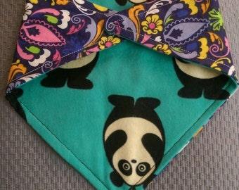 Panda Paisley Bibz4Kidz