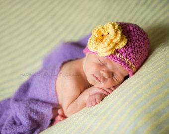 baby hat, baby girl hat, newborn girls hat, girls hat, baby girl hat, newbornyellownewborn hat, baby girl winter hat, girls winter hat