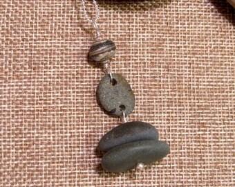Lake Michigan beach pebbles
