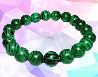 ON SALE - Malachite Stretch Bracelet