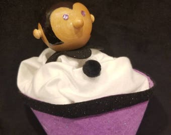 Purple Rain Cone Puppet