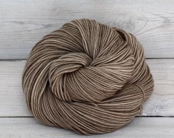 Aspen Sport - Hand Dyed Superwash Merino Wool Sport Yarn - Colorway: Mushroom