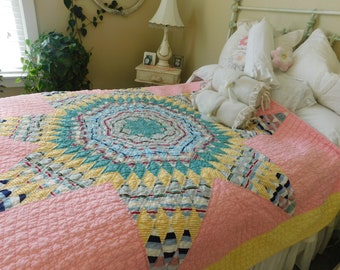 Gorgeous 40s Star of Bethleham Quilt