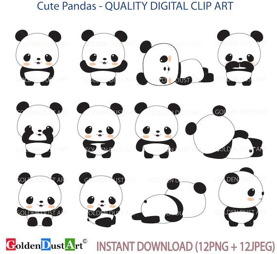 Panda Clip Art Clipart Cute
