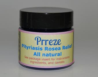 PRReze Pityriasis Rosea Relief cream 1 Ounce SHIPPED 6 DAYS A WEEK