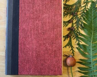 03 PASSION - hand-bound artist's sketchbook