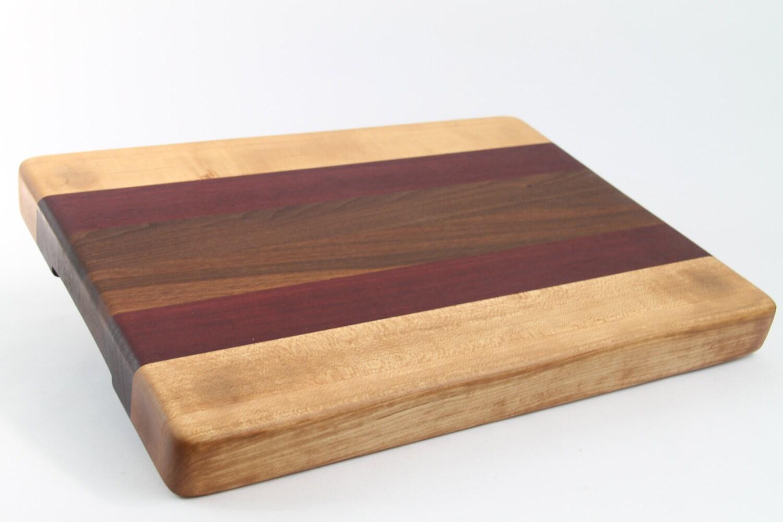 handcrafted wood cutting board edge grain walnut no. Black Bedroom Furniture Sets. Home Design Ideas
